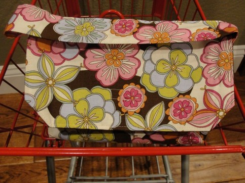 {Custom Order} Hands-Free Coupon Organizer - Vintage Flower
