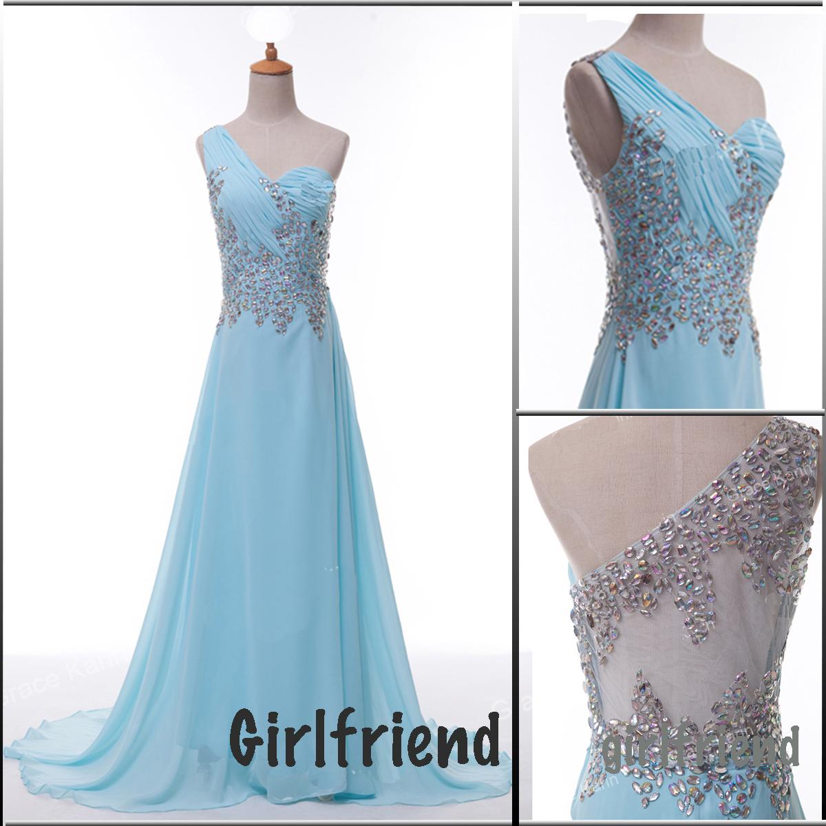Prom Dresses Light Blue Long - Plus Size Prom Dresses