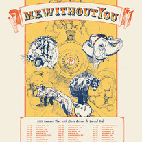 mewithoutYou 2012 Summer Tour Poster