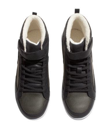 BRAND NEW H\u0026M Kids Black Sneakers sold