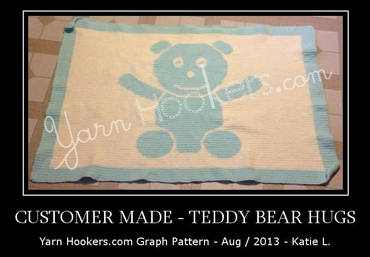 Teddy Bear Knitting Chart | Crochet bear patterns, Bear patterns ... | 501x722