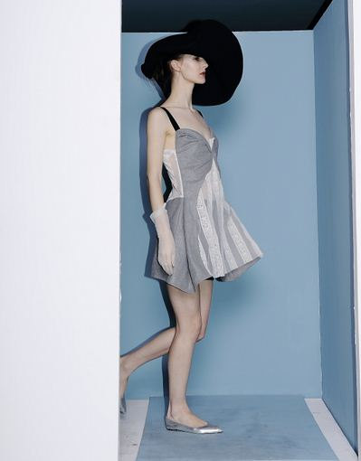 8a744f47f7b8 Classic 60s Collection vintage style French old fashion grey lace or coffee  brown gorgeous dress