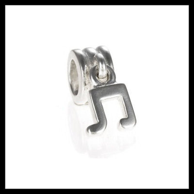 514a2b8be Authentic pandora music note dangle .925 sterling silver european charm bead  - item no.