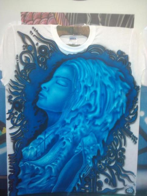 Airbrush clothes online