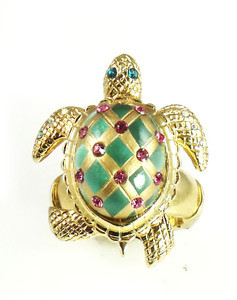 05e359342b396 Betsey Johnson Turtle Stud Earrings from It's A Diva's World