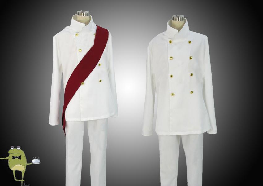 One Piece Sengoku Cosplay Costume Marine Admiral Uniform ...