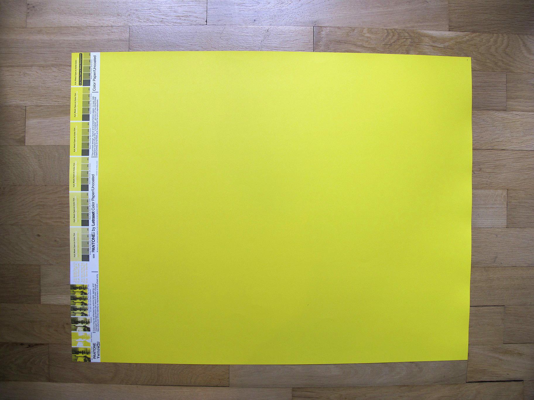 Vintage Pantone 174 Poster Yellow U On Storenvy