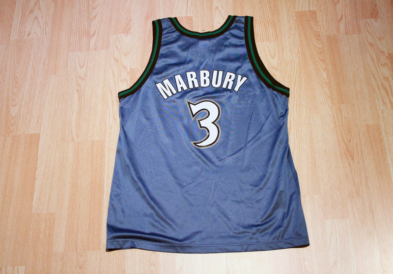 new style 586f4 26fac Stephon Marbury Timberwolves Jersey from SLAM! Vintage