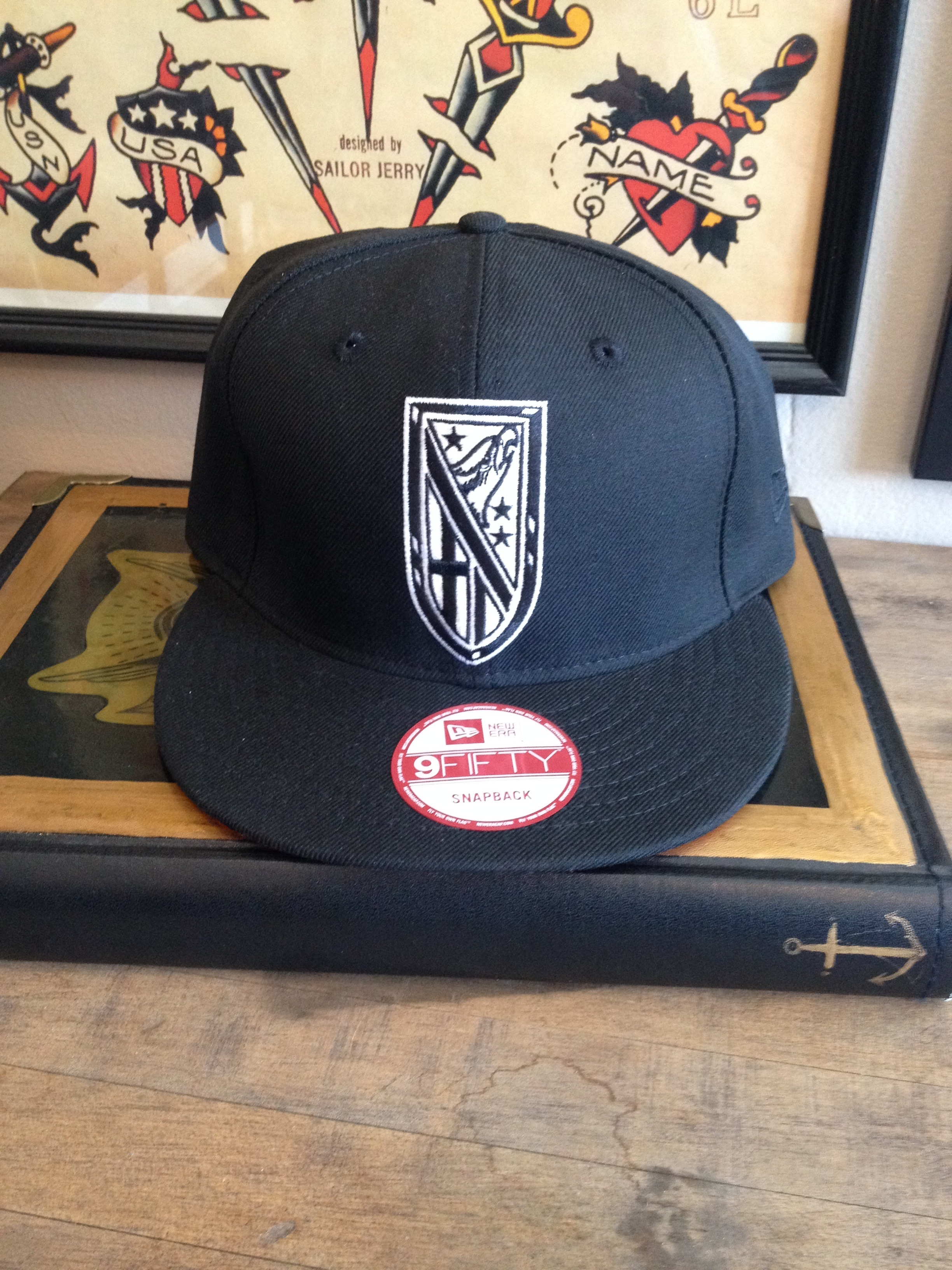 e022a268ad30c Eagle Snapback · Steadfast Tattoo Parlour · Online Store Powered by ...