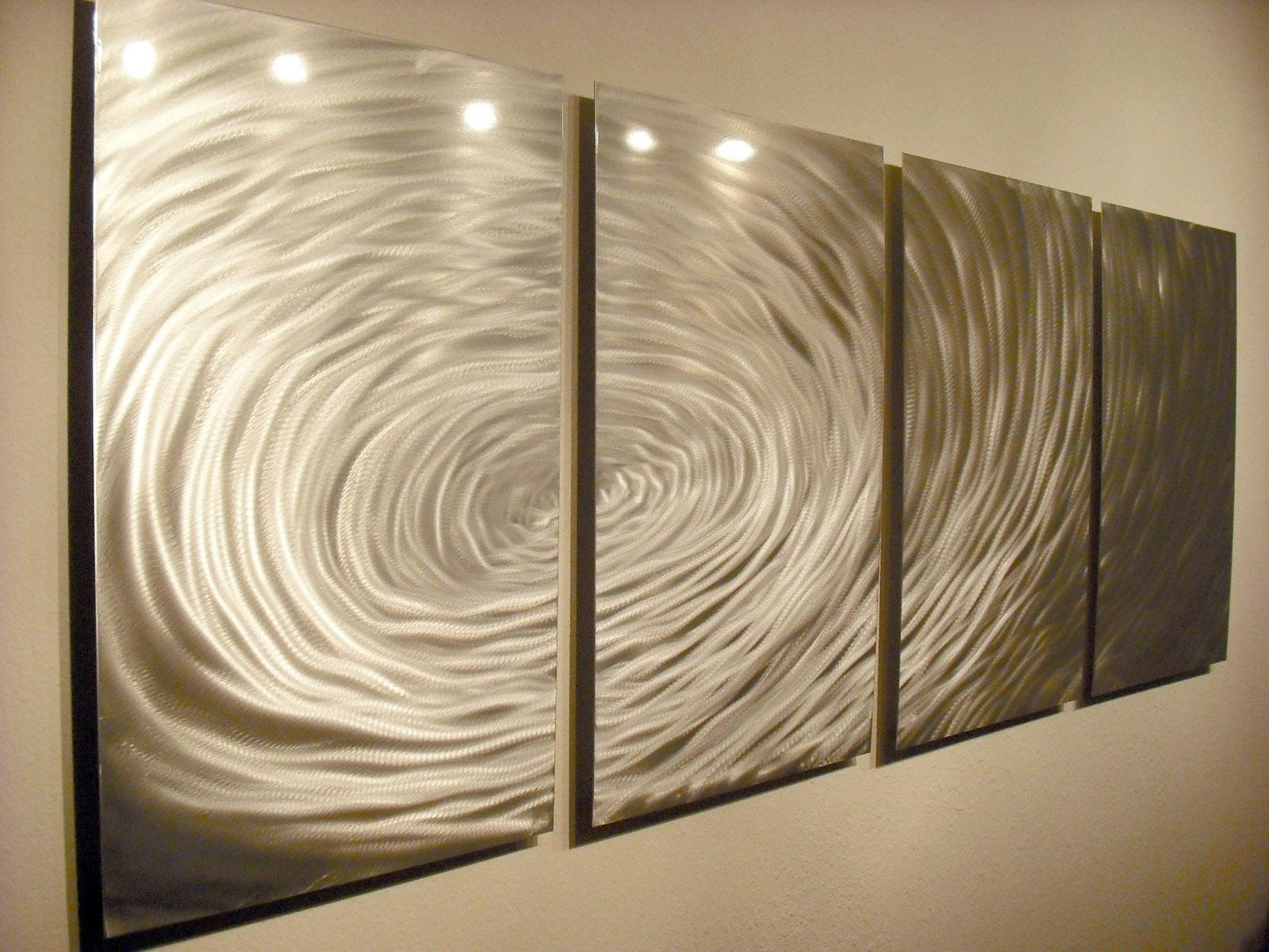 Rippling- Abstract Metal Wall Art Contemporary Modern