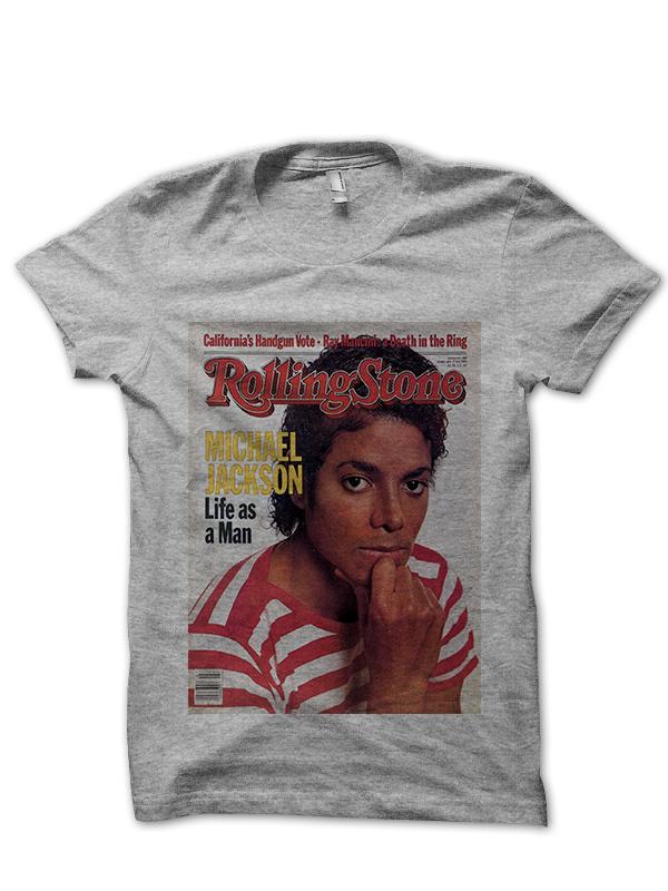 Michael Jackson Rolling Stone Cover T Shirt Cool Shirts
