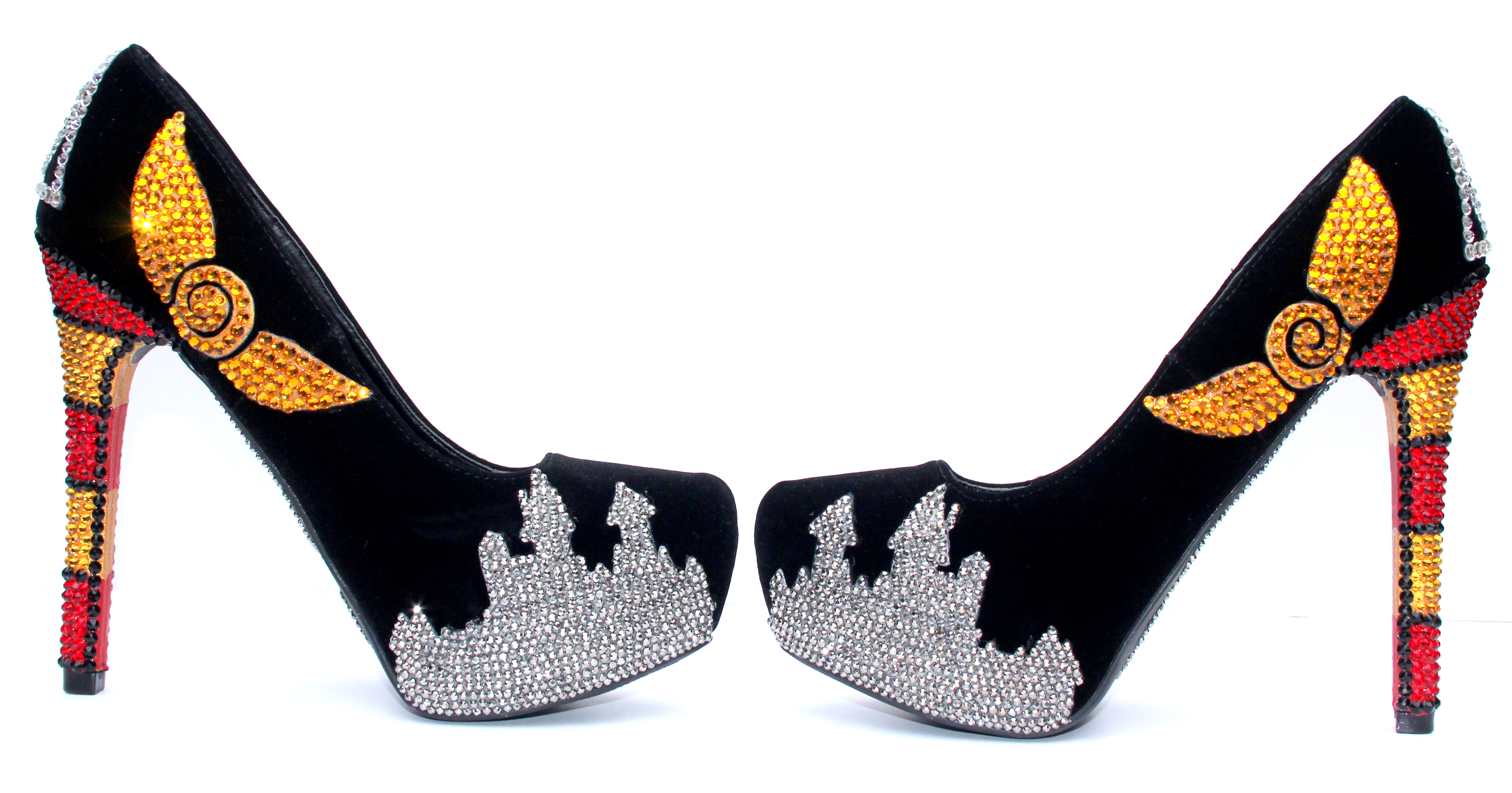 ae6d70a29 Harry Potter Heels hand painted with Swarovski Crystals on Storenvy