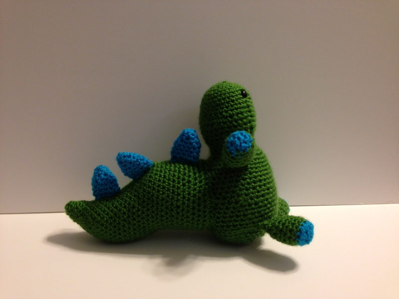Knit A Desk Loch Ness … Monster That Is … Great Gift Idea ... | 600x800