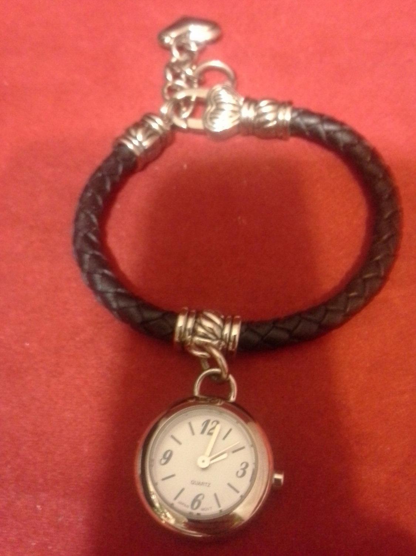 Think, vintage heart bracelet