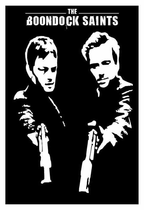 Boondock Saints Decal 12 Quot Wide On Storenvy