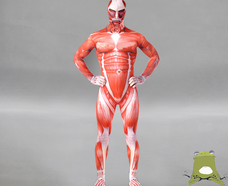 Attack On Titan Colossal Titan Suit Costume Cosplay Buy On Storenvy