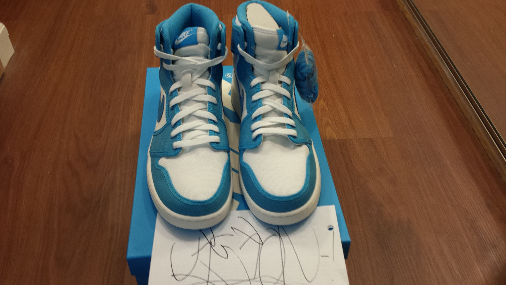 70893a8bb10 Nike Air Jordan 1 AJKO UNC (from Rivalry Pack;size 11) - Thumbnail ...