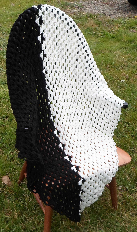 Yin Yang Baby Blanket Crochet On Storenvy