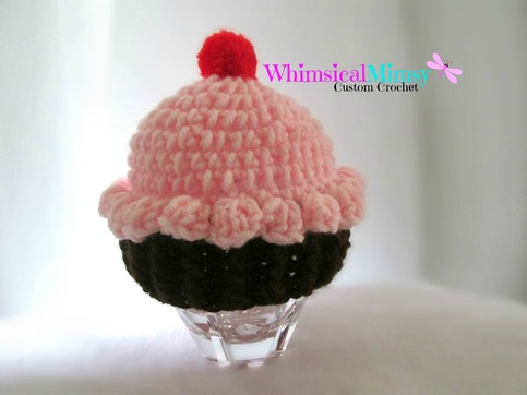 63446dbb59d Crochet Baby Pink Cupcake Hat · Whimsical Mimsy · Online Store Powered by  Storenvy