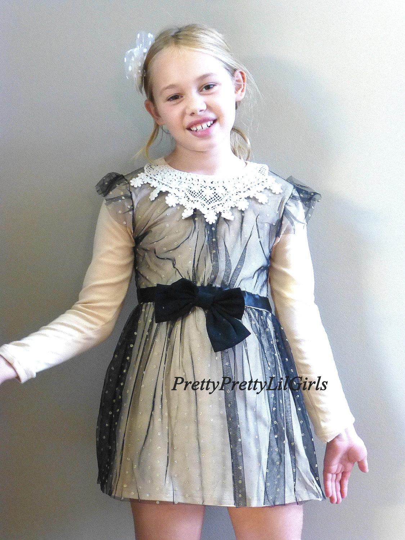 Girls Dress Girls Holiday Dress Little Girls Dress