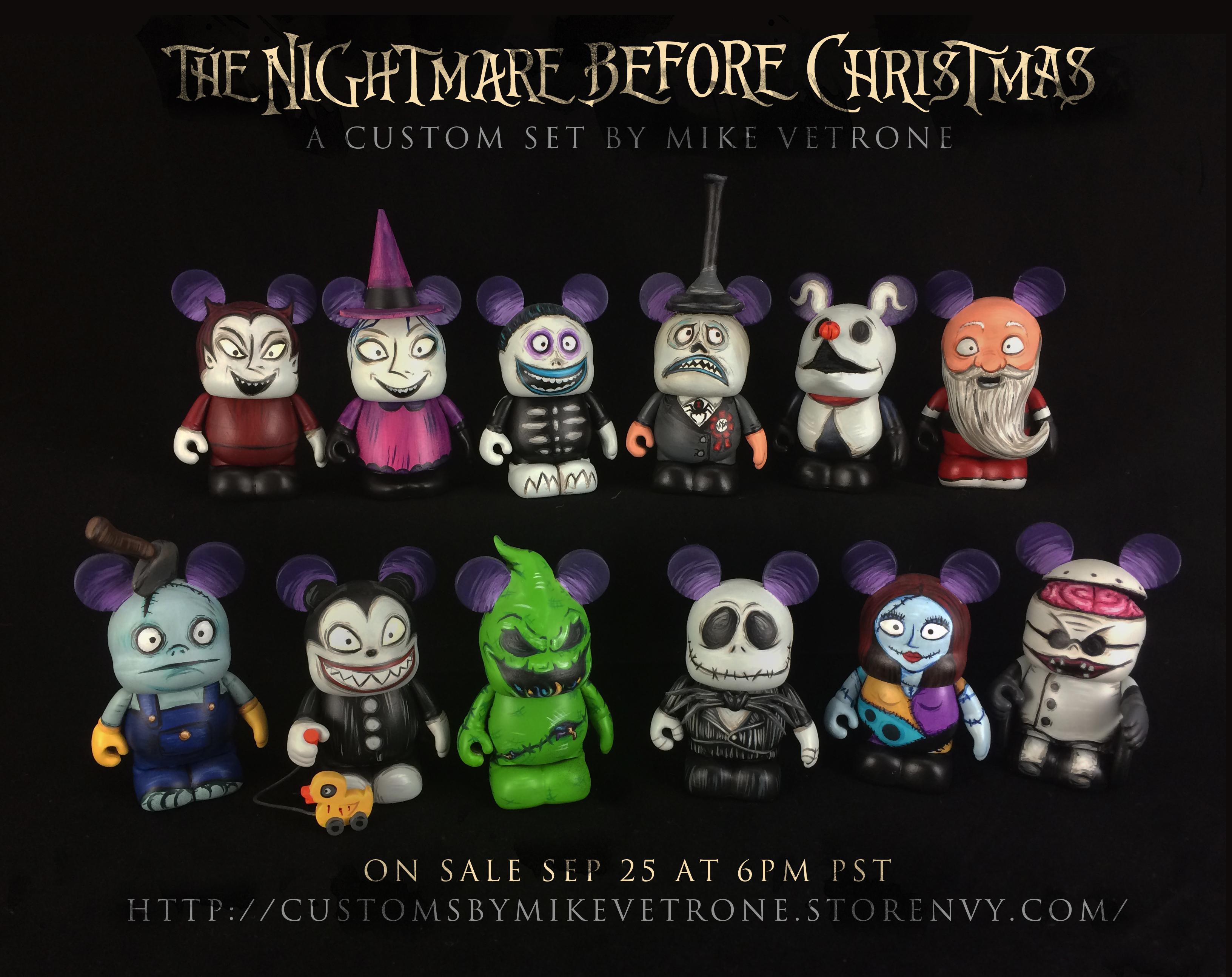 Nightmare Before Christmas Series 1 on Storenvy