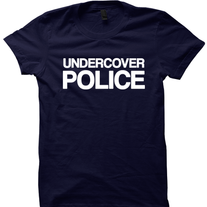 b3e83e34 UNDERCOVER POLICE COSTUME T-SHIRT HALLOWEEN COSTUMES POLICE SHIRT FUNNY  SHIRTS HALLOWEEN STUFF SHIRTS WITH WORDS COP CLOTHES TRICK OR TREAT SHIRT  on ...
