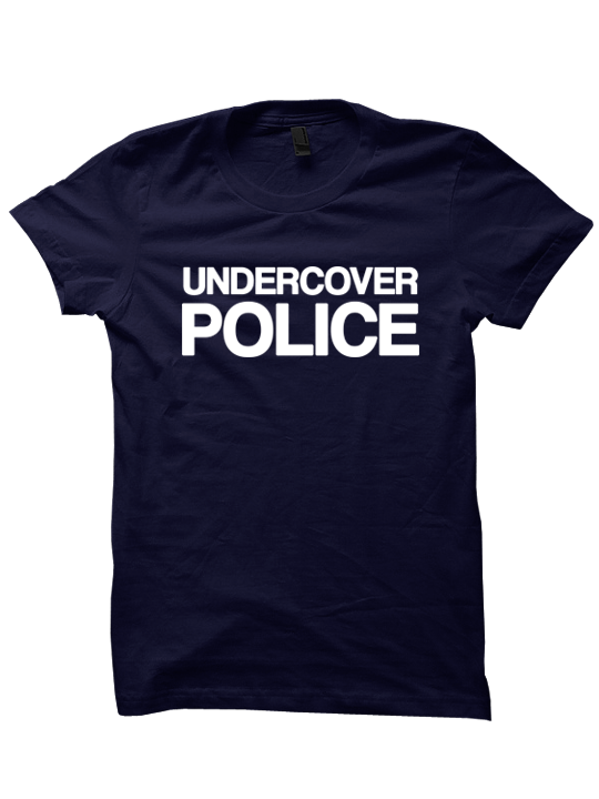 87a3f415 UNDERCOVER POLICE COSTUME T-SHIRT HALLOWEEN COSTUMES POLICE SHIRT FUNNY  SHIRTS HALLOWEEN STUFF SHIRTS WITH