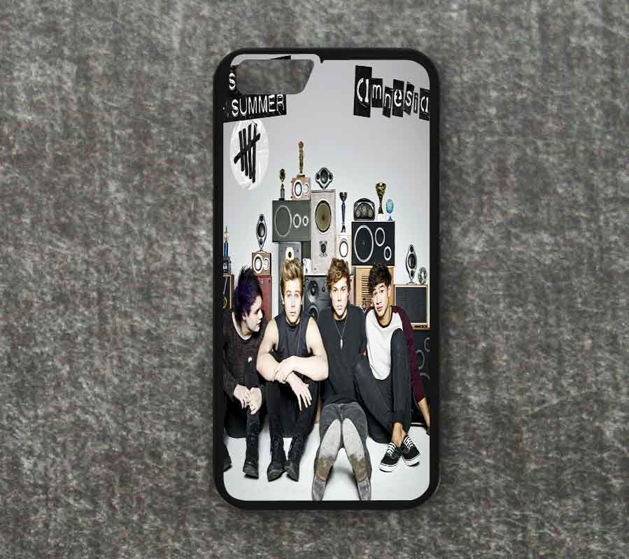 the best attitude f787a 417e1 5sos // 5 Seconds of Summer // Amnesia - iPhone Case // iPhone 6 / 6 plus /  5 / 5s / 5c / 4 / 4s Case from FushionShop