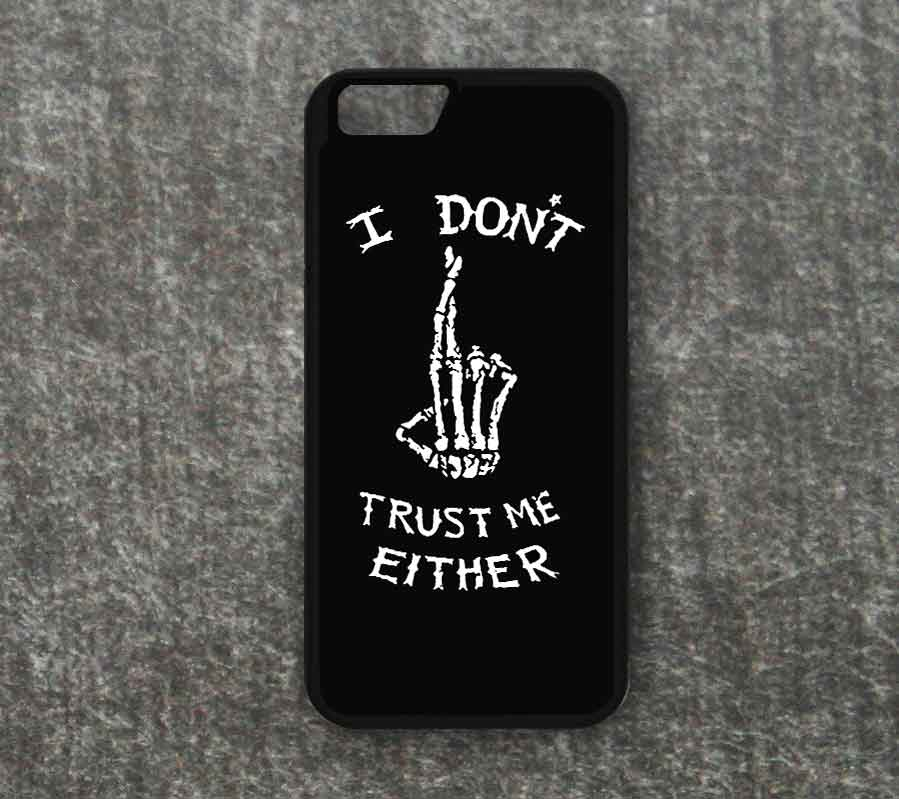 I Dont Trust Me Either Quote 5 Seconds Of Summer Iphone