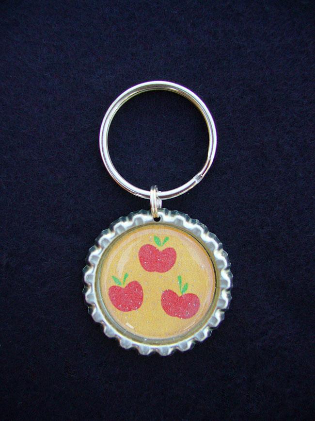 Mlp Cutie Mark Keychains Single Handmade Double