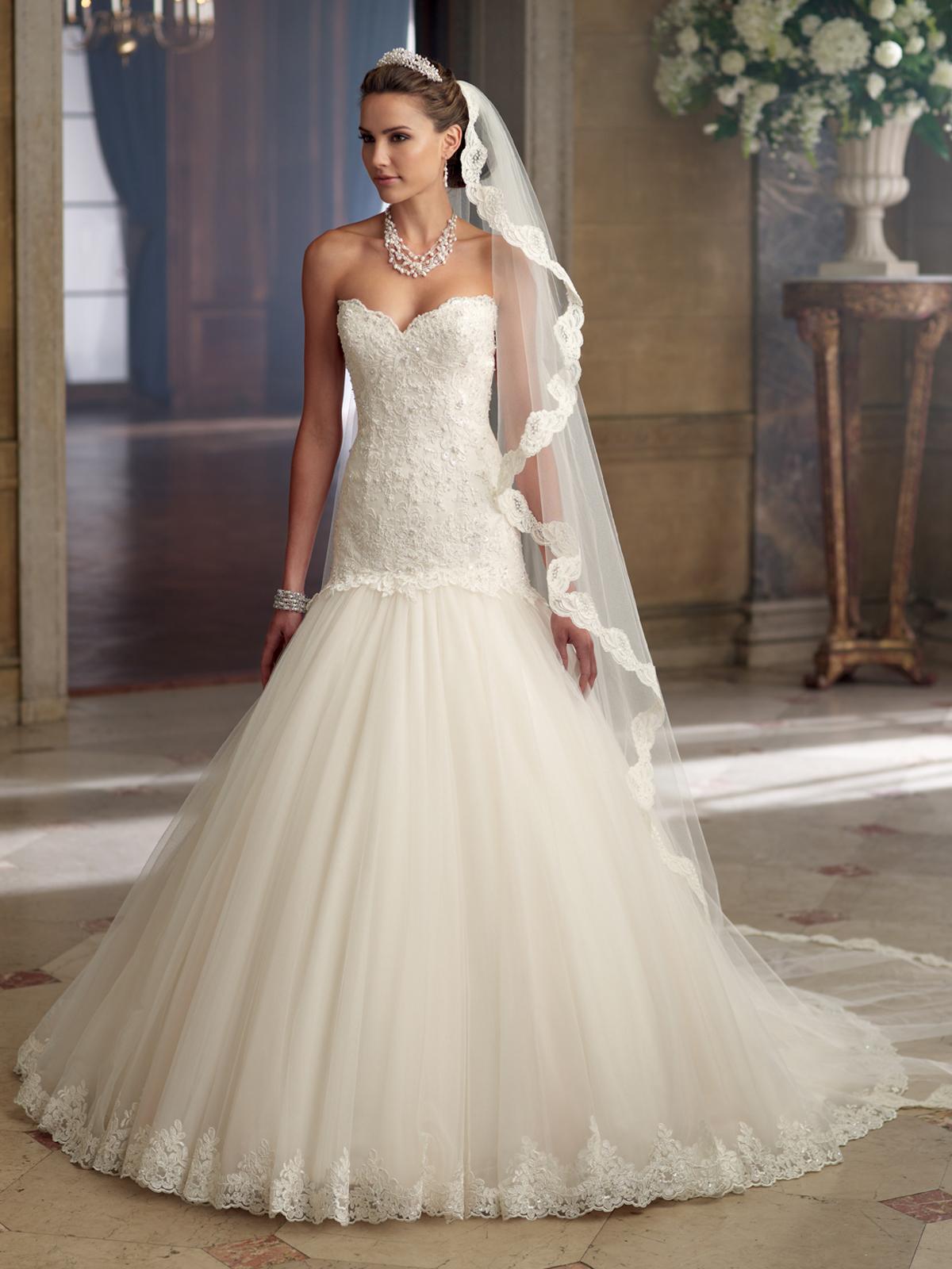 David Tutera Mon Cheri Bridal Gowns Davina #213244 on Storenvy