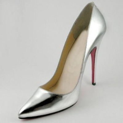 55212367ebad Silver fashion sexy pointed toe platform women pumps 11cm high heels ladies'  wedding nude pumps