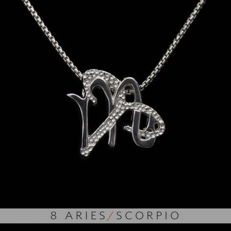 The aries and scorpio unity pendant on storenvy the aries and scorpio unity pendant mozeypictures Image collections
