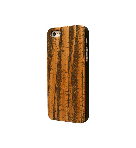 hot sale online fc4a2 4ed04 Bamboo iPhone 5S Case, Bamboo iPhone 5 Case, Wood iPhone 5S Case, Wooden  iPhone 5 Cover | Tree on Tree Design from Nutcase Design