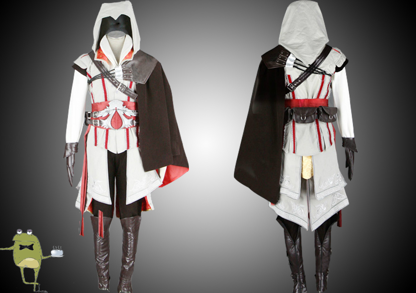 Assassin S Creed 2 Ezio Cosplay Costume For Sale Sold By Cosplayfield Anime Costumes On Storenvy