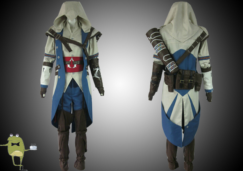 Connor Kenway Assassin S Creed Outfit Cosplay For Sale On Storenvy