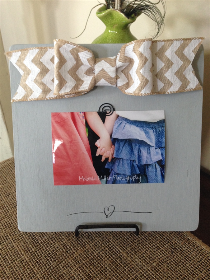 Personalized Picture Frame Board Gift For Aunt Teacher