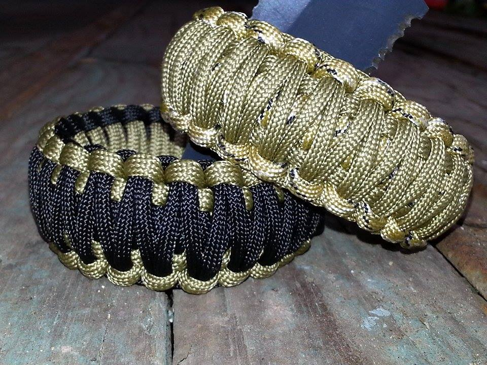 King Cobra Desert style Paracord Bracelet - B3G1 SALE sold by Critical Cords