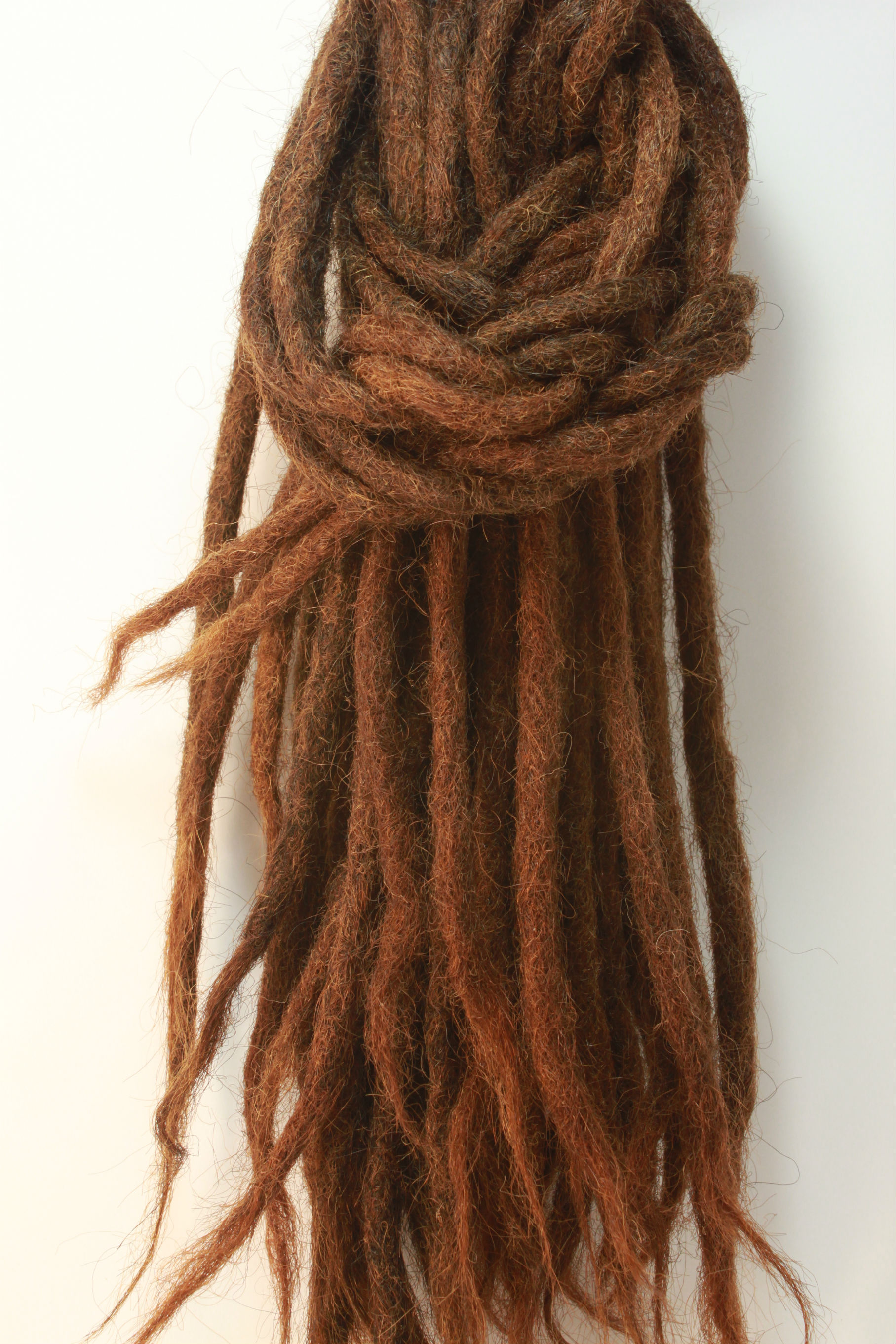 10 X Brown Human Hair Dreadlock Extensions Best Quality On Storenvy