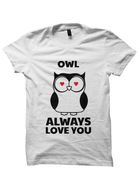 Owl Always Love You T Shirt Valentines Day Shirt Funny