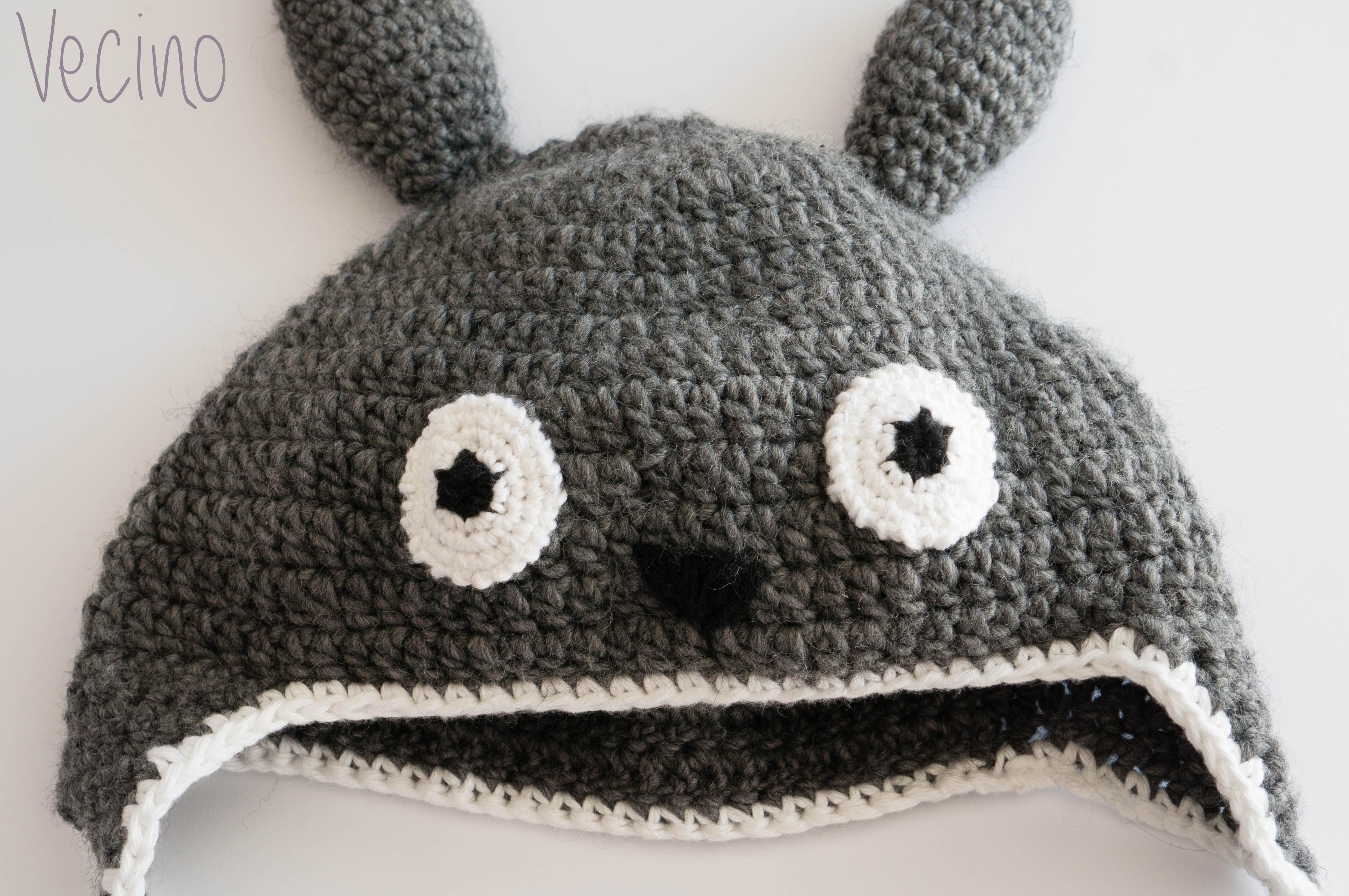 Totoro crochet hat · El taller de Aracne · Online Store Powered by ... 2bb0cf02ef4