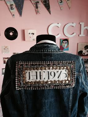 Large The 1975 Band Patch On Storenvy