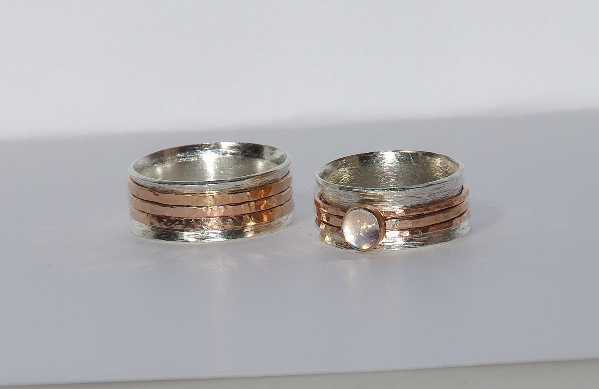 personalized unique wedding bands custom engraved words inside