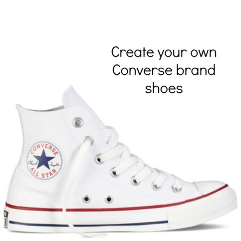 MAKE IT PERSONAL Show them how well you know them, with the perfect personalized gift. Place your order for customized Chucks by December 3rd.