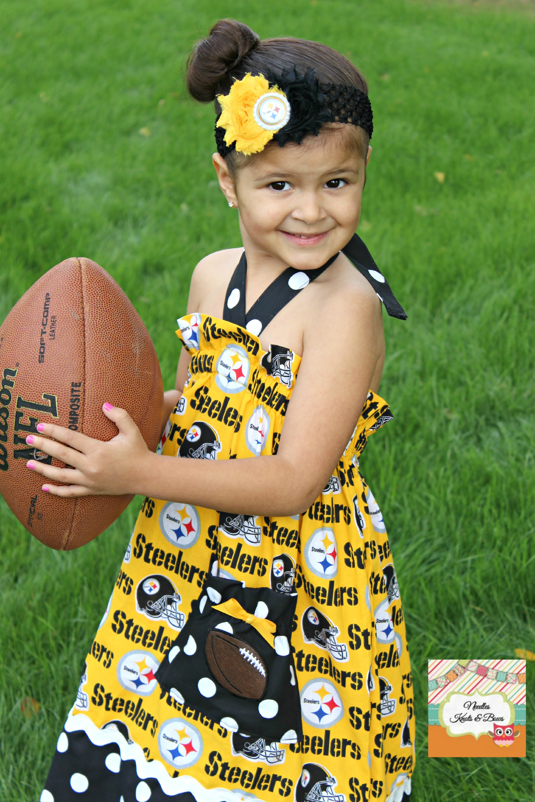 huge discount 03234 0f887 Girls Pittsburgh Steelers Gameday Dress, Girls Pittsburgh Steelers  Cheerleader Outfit, Baby Girls Steelers Gameday Dress, Newborns to size 8  from ...