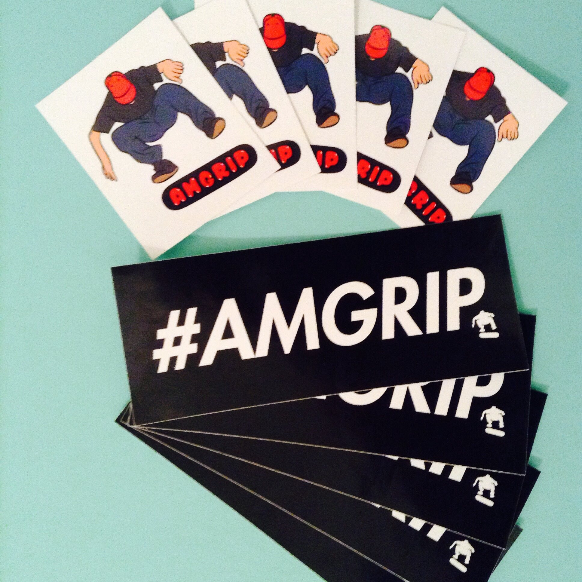 Amgrip Sticker Pack