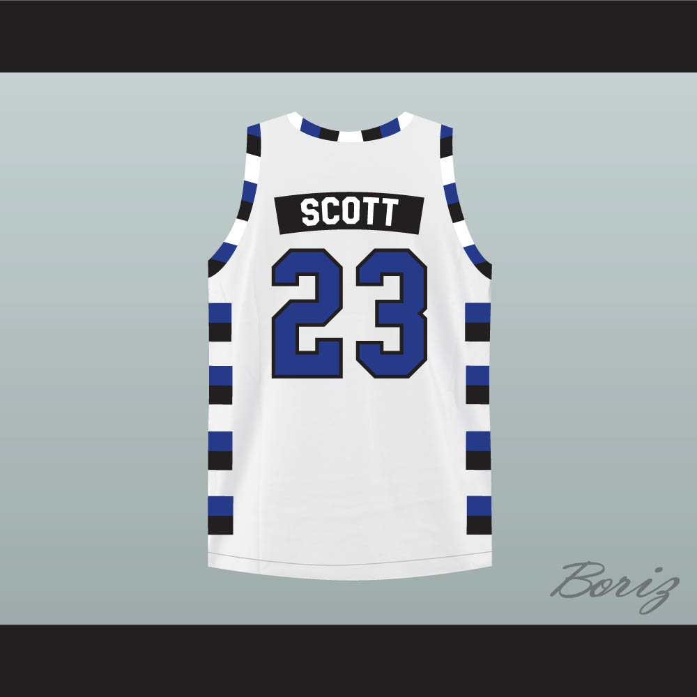 d761e344a237 Nathan Scott 23 One Tree Hill Ravens White Basketball Jersey Any Player -  Thumbnail 1 ...