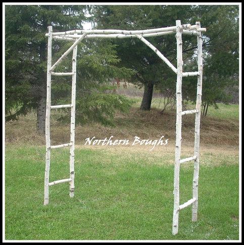Birch Wedding Arch Arbor Kit 183 Northern Boughs 183 Online