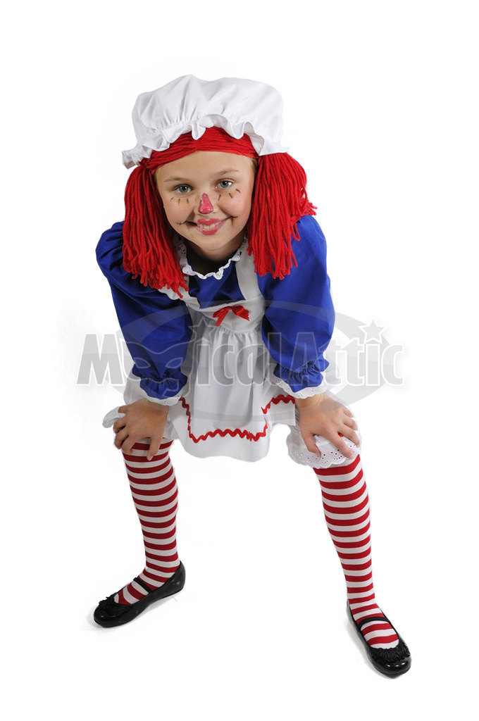 f680b149908 Custom Boutique RAGGEDY ANN Girl Size Costume Set from Magical Attic