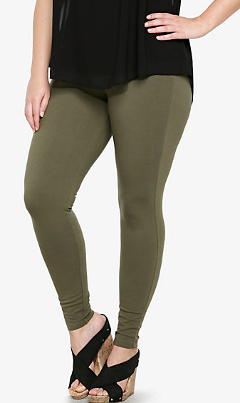 Olive Green Leggings 183 Fat And Nerdy 183 Online Store